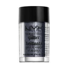 NYX Cosmetics Face Body Glitter Gunmetal Brand New
