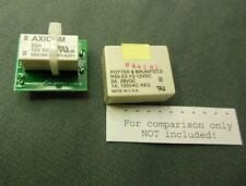Drop-in substitute for R50-E2-Y2-12VDC relay used in Palomar 300A