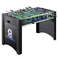Playoff 4-Foot Foosball Table Game for Kids and Adults with Ergonomic Handles