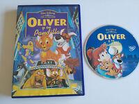 OLIVER Y SU PANDILLA DVD + EXTRAS WALT DISNEY ESPAÑOL ENGLISH