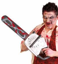 Halloween arme géant en plastique tronçonneuse sanglante 70 cm accessoire robe fantaisie accessoire