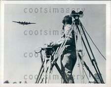 1954 Remote Controlled QB-17 Drone Plane Eglin Air Force Base FL Press Photo