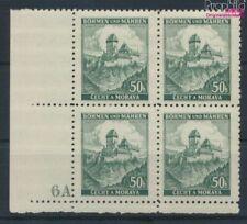 Bohemen en Moravië 26 met Nummerplaat postfris MNH 1939 Kasteel Karls (9310339