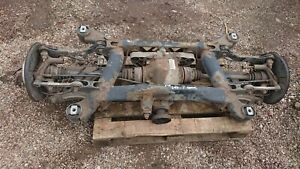 BMW E38 7 SERIES COMPLETE REAR AXEL, SUBFRAME DIFF SHAFTS HUBS ETC