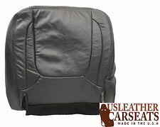 2004 2005 Dodge Ram Driver Side Bottom Replacement Leather Seat Cover Dark Gray
