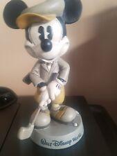 mickey mouse bobblehead bobble head walt disney world golf golfing