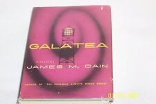 Galatea by James M. Cain Arthur Hawkins Jr. illust. USA 1953 hardcover W/jacket