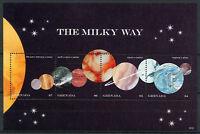 Grenada 2018 MNH Milky Way Planets Mars Jupiter Saturn 4v M/S Space Stamps