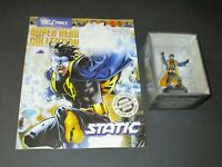 DC Comics Super Hero Collection Issue #102 STATIC - Eaglemoss - Magazine Figure