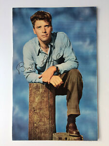 Burt Lancaster - From Here to Eternity - Elmer Gantry - Original HS Autograph