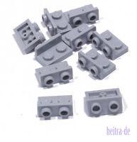 LEGO - 10 x Winkel Konverter invers hellgrau 1x2 auf 1x2 / 99780 NEUWARE