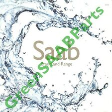 SAAB 2012 GB Range Brochure, Never Released To Dealers, NG9-5, 9-4X 9-3 9-3X