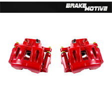 Front Red Brake Calipers For CHRYSLER 300 DODGE CHALLENGER CHARGER MAGNUM