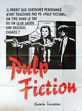 Affiche 120x160cm PULP FICTION (1994) Quentin Tarantino - Thurman, Travolta TBE