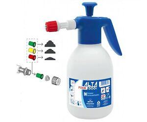 Alta 2000 Snow Foam Pressure Sprayer Hand Heavy duty Foamer 2 Litre Pump Action