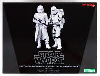 Kotobukiya SW123 Star Wars TFA First Order Snowtrooper & Flametrooper Figure Set
