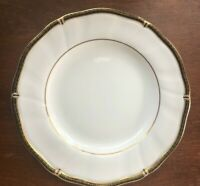 "Wedgwood Windsor Black Bone China Salad Plate 8"" (#3)"