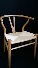 NEW FRENCH PROVINCIAL REPLICA HANS WEGNER WISHBONE WOODEN OAK CHAIR DINING