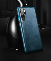 Original XOOMZ Genuine Leather Ultra Thin Case Back Cover for Huawei P30 P30 Pro