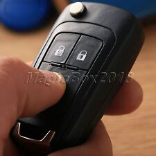 3 Button Replacement Car Flip Key Fob Blank Shell Case Cover For Chevrolet Cruze