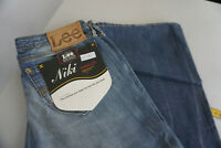 LEE Niki Jeans stretch Damen Hose 28/33 W28 L33 stonewashed used blau NEU C40
