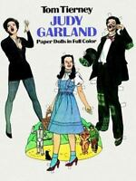 Paper Dolls Book Judy Garland Wizard of Oz Celebrity Hollywood Fashion 30s OOP