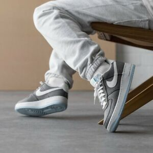 🔥BNWB Authentic Nike Air Force 1 07 Recycled Canvas Iron Grey Trainers UK 11