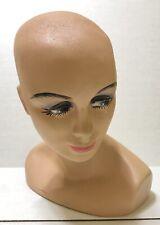 Vintage Female Mannequin Head Bust Jewelry Wig Hat Display 1960s Era