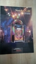 NSM Nostalgia Gold CD Jukebox sales brochure / flyer / pamphlet