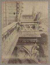 Notre-Dame de Paris France Vintage albumine ca 1880