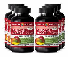 Cholesterol supplements AFRICAN MANGO EXTRACT 1000 FAT BURNER Source of life 6B