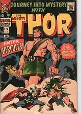 Journey Into Mystery #124 Marvel Comics 1966 Hercules Appearance Lee/Kirby VG
