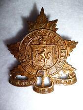 M46, The Kent Regiment of Canada Cap Badge - Canada WW2