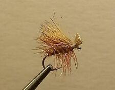 1 Dozen - Yellow Elk Hair Caddis -  Dry Fly - Trout