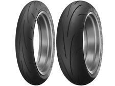 Dunlop 120/70-17 Front 190/50-17 Rear Q3+ Sportmax Motorcycle Sportbike Tires ZR