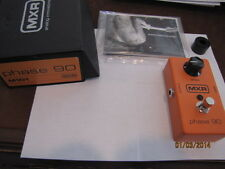 MXR Phase 90 Guitar Pedal W/ Box All Paperwork.