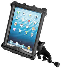 "RAM  Yoke Mount, fits iPad, Other 10"" Tablets W/Otterbox,Belkin,Griffin, HD Case"