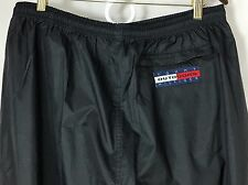 Tommy Hilfiger Outdoors Expedition Black Light Weight Nylon Pants Mens XL EUC