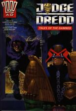 """2000AD ft JUDGE DREDD in """"TALES OF THE DAMNED"""" - GRAPHIC NOVEL - EXCELLENT COND"""