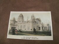 1908 Franco-British Exhibition real photo Postcard - Canadian Pavilion - London