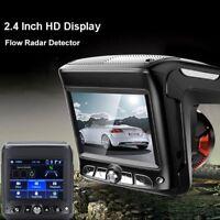New 2.4'' HD 1080P Car Video Camera Recorder Dash Cam Radar Speed Detector DVR