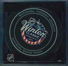 2015 Official NHL Winter Classic Official Puck Capitals vs Blackhawks - MISPRINT