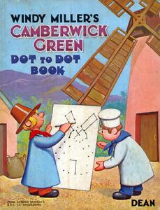 Camberwick Green coloring activity book RARE UNUSED