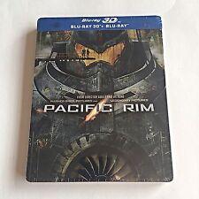 Pacific Rim Blu-Ray (3D+2D) Steelbook [Import] Region Free! OOS/OOP! SOLD OUT!