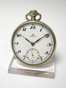OMEGA 40.6L T2, ca. 1931, žepna ura - pocket watch -Taschenuhr #21-10.01
