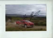 Marcus Gronholm Peugeot 307 WRC Great Britain Rally 2005 Signed Photograph