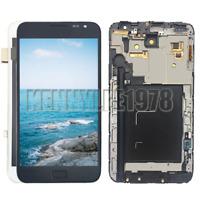 For Samsung Galaxy Note 1 N7000 i9220 LCD Display Touch Screen Digitizer + Frame