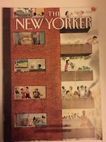 """The New Yorker Magazine ~ June 25, 2018 ~ """"City Living"""" Cover by Harry Bliss"""