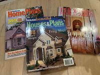 Home Plans & Phoenix Home & Garden Magazines Lot Of 3 House Plans Design Ideas