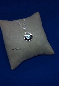BMW necklace- Handmade - Car jewelry - BMW Pendant